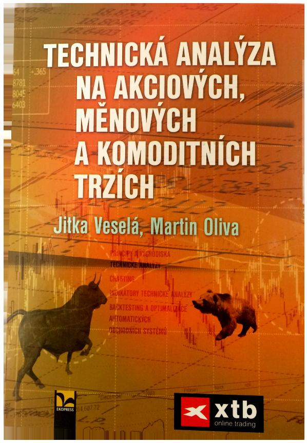 kniha Technická analýza na akciových, měnových a komoditních trzích