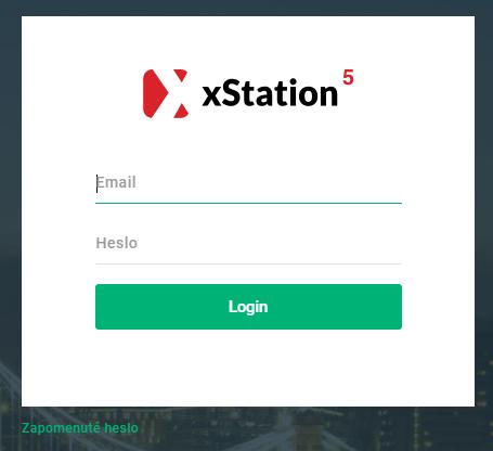 xStation 5 - login